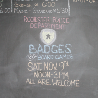 Badges and Board Games